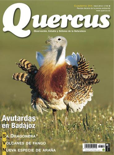 Portada Quercus nº 314 / Abril 2012