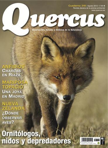 Portada Quercus nº 318 / Agosto 2012