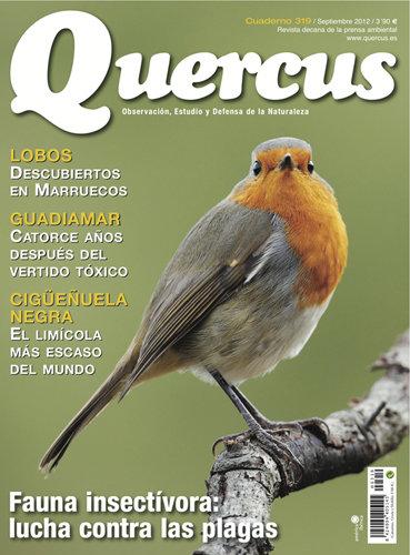 Portada Quercus nº 319 / Septiembre 2012