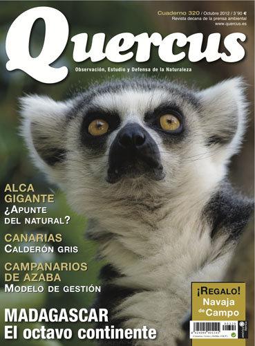 Portada Quercus nº 320 / Octubre 2012