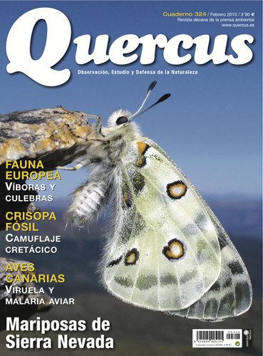 Portada Quercus nº 324 / Febrero 2013