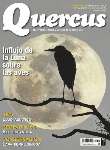 Portada Quercus nº 325 / Marzo 2013