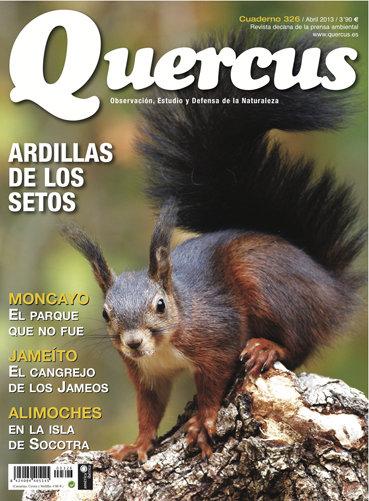 Portada Quercus nº 326 / Abril 2013