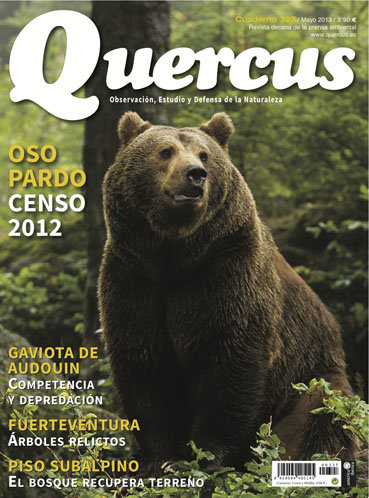 Portada Quercus nº 327 / Mayo 2013