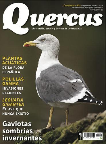 Portada Quercus nº 331 / Septiembre 2013