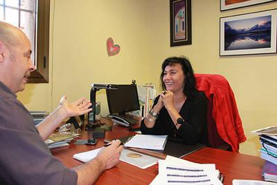Un momento de la entrevista concedida por Asunción Ruiz a Quercus (foto: Agustín Carretero / SEO BirdLife).