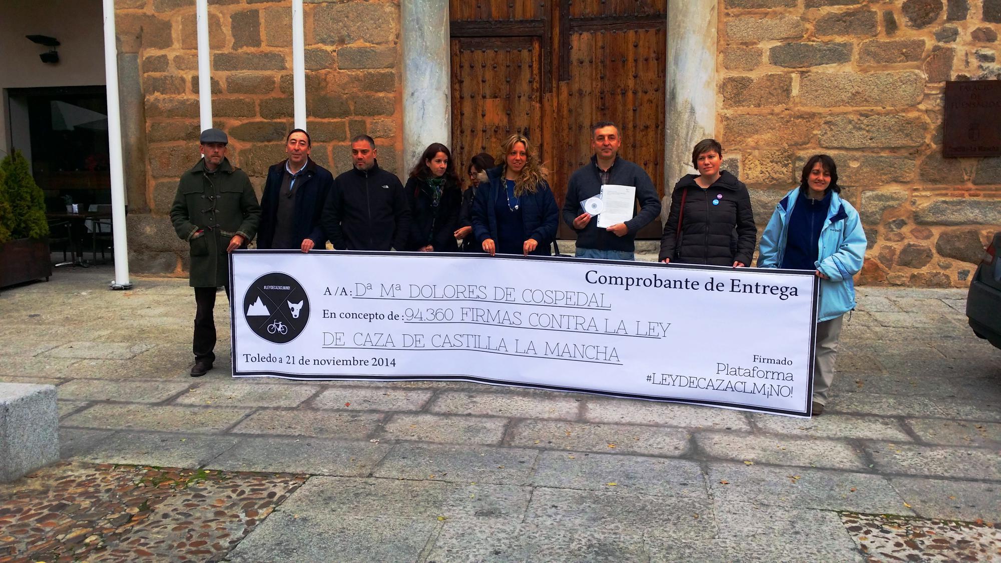 Casi cien mil firmas contra la Ley de Caza de Castilla-La Mancha
