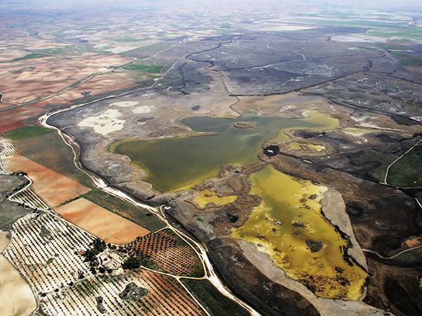 El Taray: así se destruye una laguna en la Mancha Húmeda