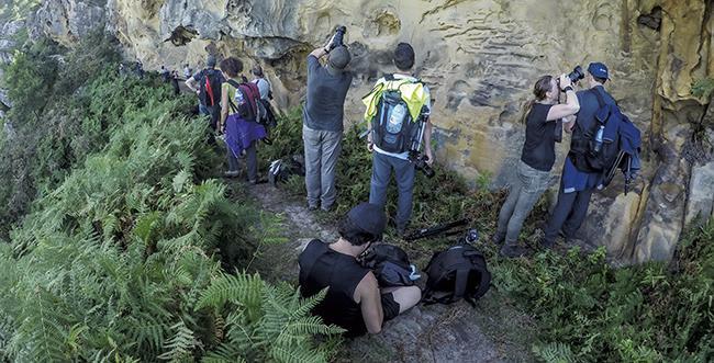 Encuentro sobre fotografía y conservación en Jaizkibel