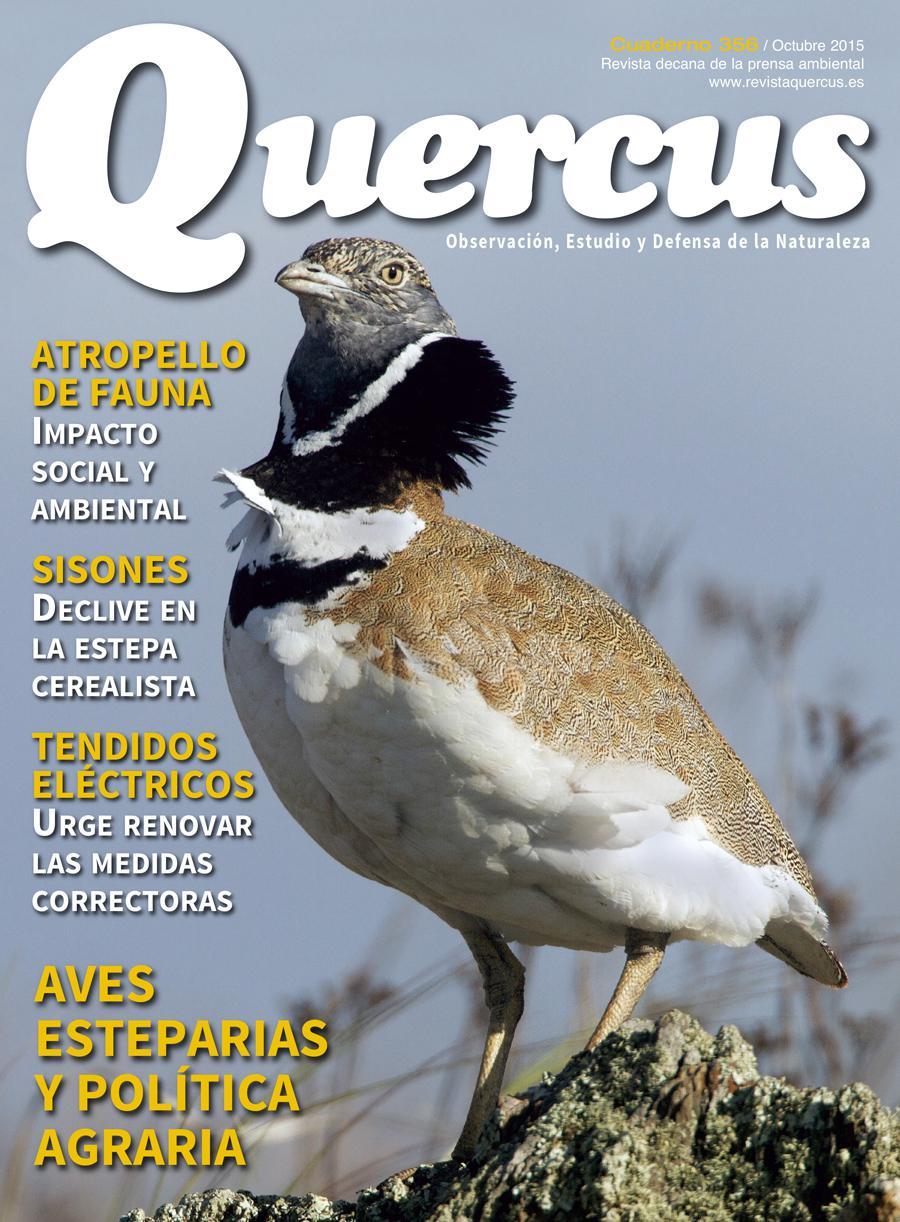 Portada Quercus nº 356 / Octubre 2015