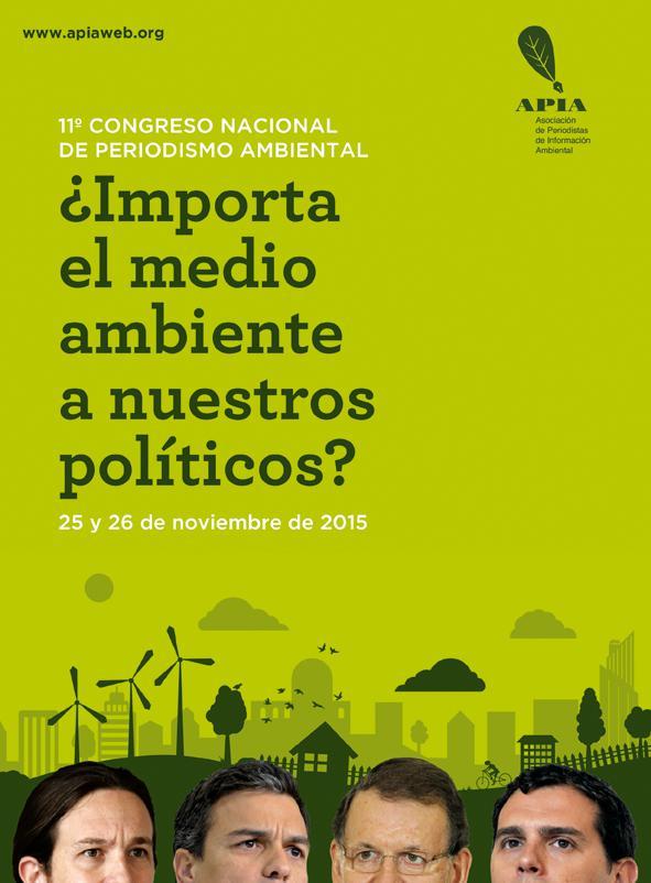 Políticos y medio ambiente, en el XI Congreso de APIA