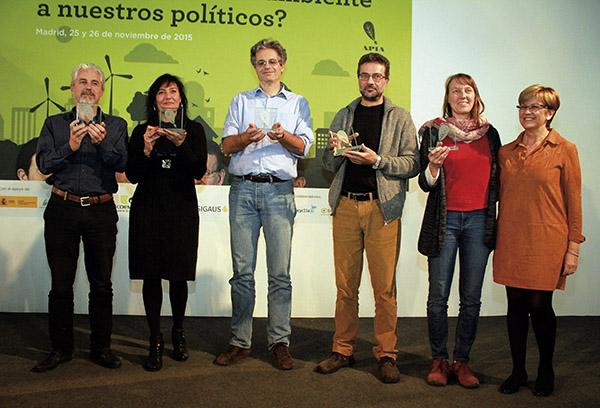 El G-5 ecologista se lleva el premio Vía APIA