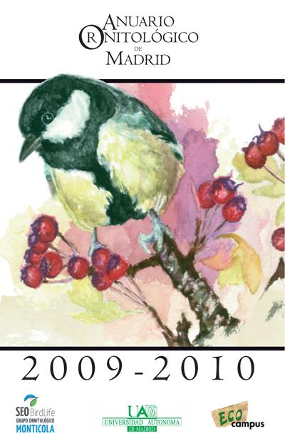 Ya está disponible el Anuario Ornitológico de Madrid 2009-2010