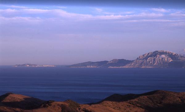 Fauna vicariante a un lado y otro del estrecho de Gibraltar