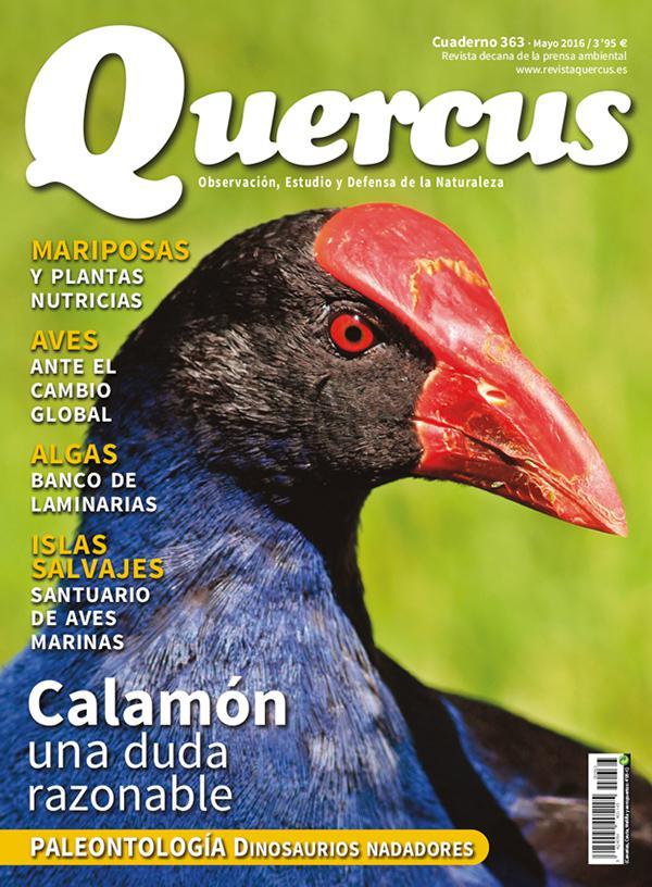 Sumario Quercus nº 363 / Mayo 2016