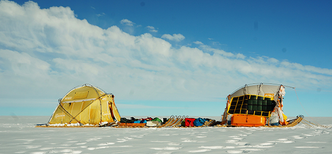 Una expedición documenta el rápido deshielo de Groenlandia