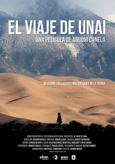 Cartel de la película documental El viaje de Unai.