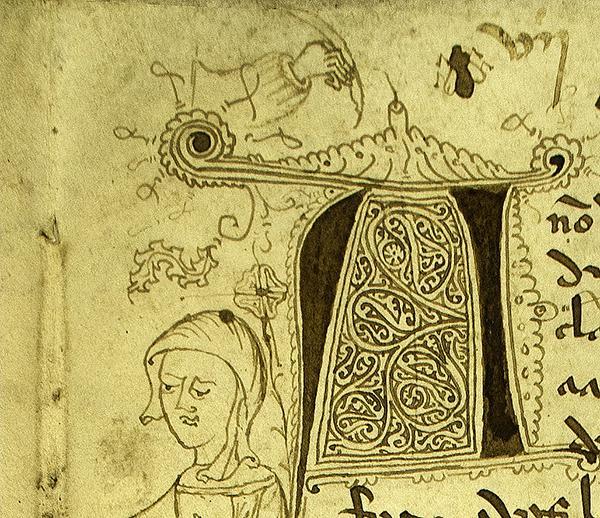 Moscas, monjas y... ¿demonios? La representación más antigua de Galicia