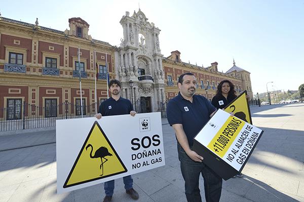 Campaña internacional de WWF para frenar el asedio a Doñana