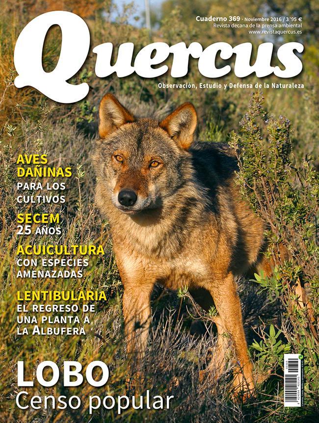 Sumario Quercus nº 369/Noviembre 2016