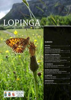 Las mariposas de Picos de Europa, en una revista