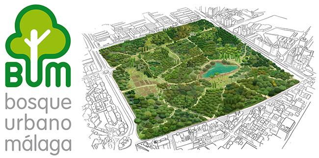 Proyecto BUM: un pulmón verde para la ciudad de Málaga
