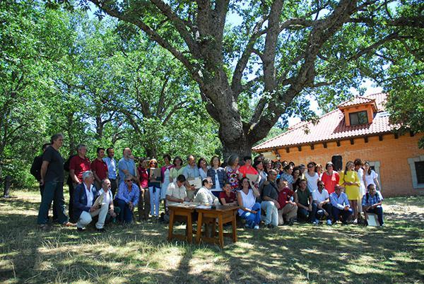 Homenaje realizado a personas con especial vinculación con el ceneam el pasado 11 de julio (foto: ceneam).
