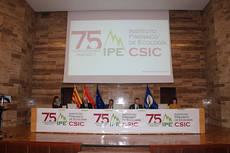 Acto institucional de celebración del 75 aniversario del Instituto Pirenaico de Ecología (foto: IPE).