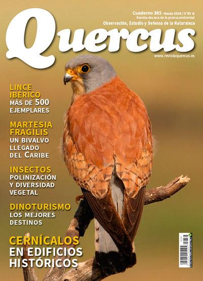 Portada Quercus nº 385/ Marzo 2018