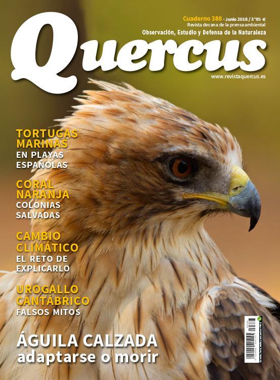 Sumario Quercus nº 388/ Junio 2018