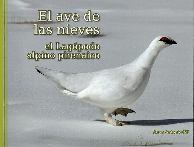 Portada de El ave de las nieves, publicación dedicada al lagópodo alpino.