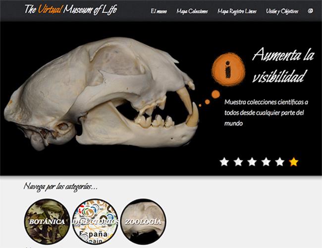 Abre sus puertas on-line el Museo Virtual de la Vida