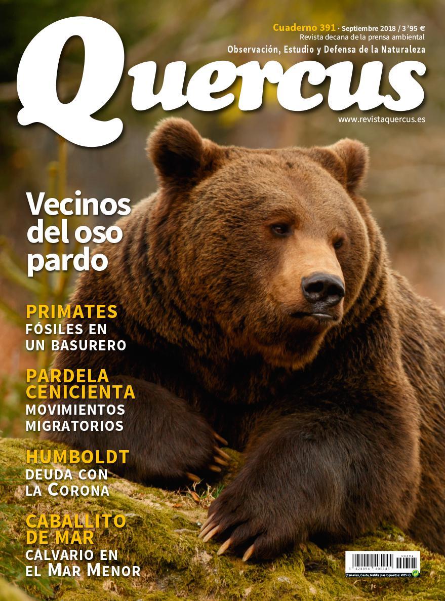 Sumario Quercus nº 391 / Septiembre 2018