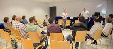 Grupo de trabajo convocado durante una convocatoria anterior de las Jornadas Estatales de Custodia del Territorio (foto: FRECT).