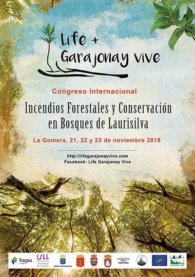21-23 de noviembre: LIFE+ Garajonay Vive convoca un congreso en La Gomera sobre incendios y laurisilva