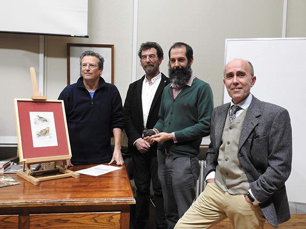 De izquierda a derecha, Rafael Serra, Javier Zapata, David González y Américo Cerqueira (foto: Javier Martín).
