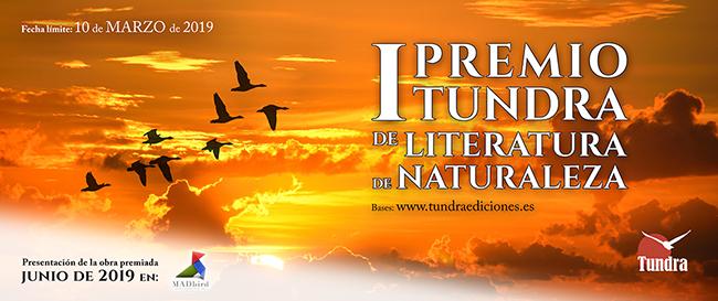 Escribir literatura de naturaleza tiene su premio