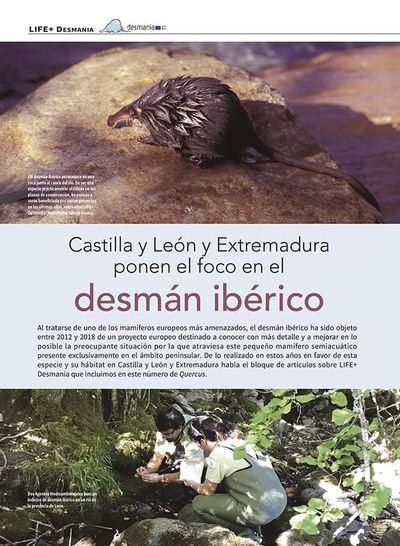 Proyecto LIFE+ Desmania