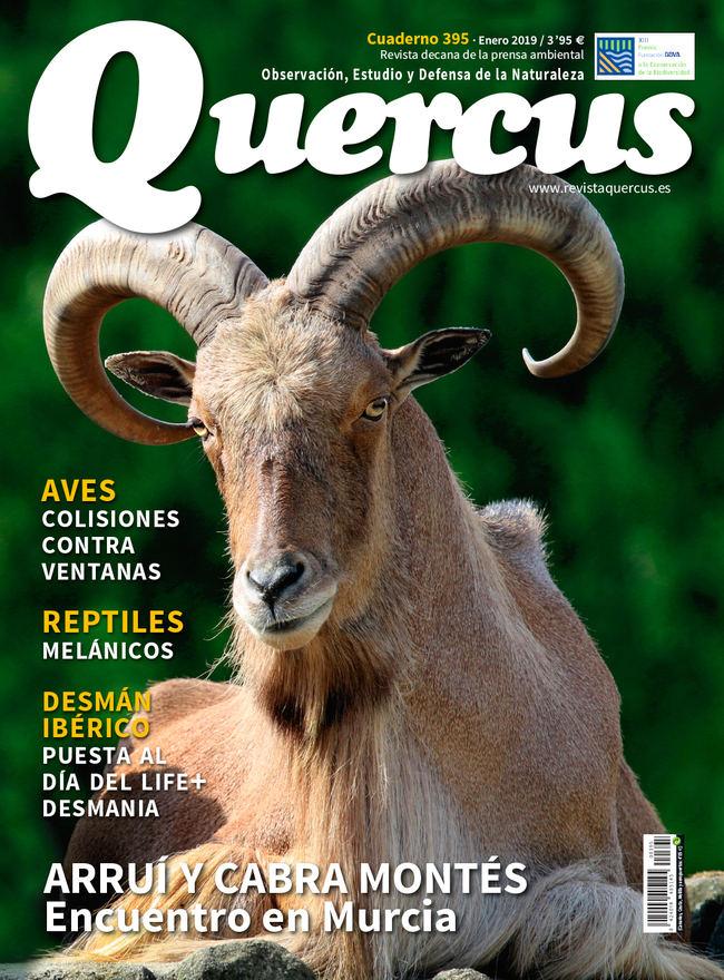 Portada Quercus nº 395 / Enero 2019