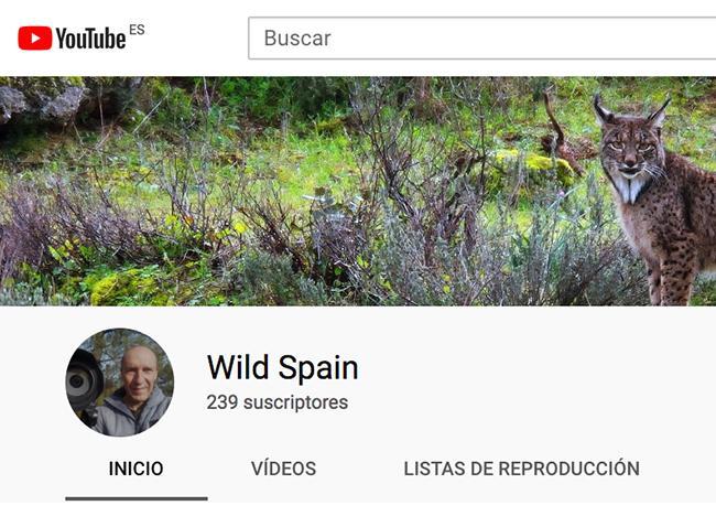 Jorge Sierra abre un canal de Youtube dedicado a los espacios protegidos de España