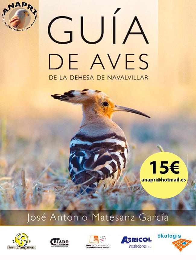 Aves de un espacio natural de la Comunidad de Madrid