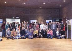 Asistentes al vigésimo quinto aniversario de Europarc-España en Madrid.