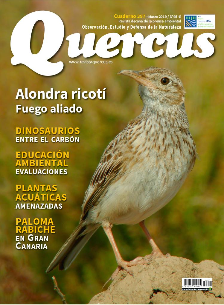 Sumario Quercus nº 397 / Marzo 2019