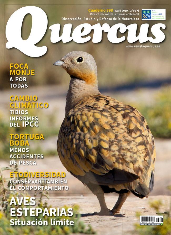 Sumario Quercus nº 398 / Abril 2019