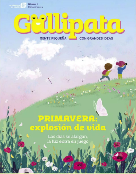 Nace 'Gallipata', la revista infantil de Ecologistas en Acción