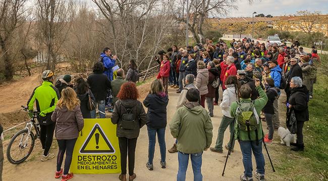 Guadalajara asiste a la degradación del río Henares