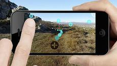 Un usuario de Wosphere usa la app en la Montaña Palentina.