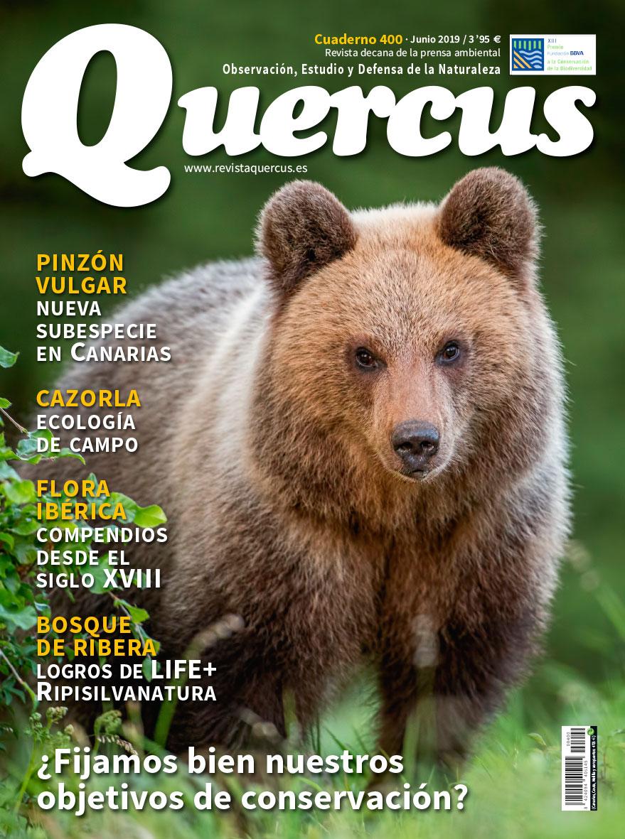 Sumario Quercus nº 400 / Junio 2019