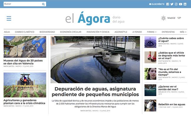 Nace un diario digital dedicado al agua y al medio ambiente