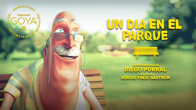 Imagen promocional del cortometraje Un día en el parque, de Diego Porral.